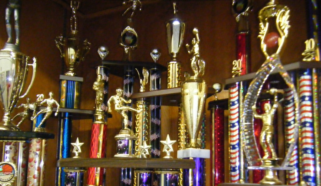 True trophies...