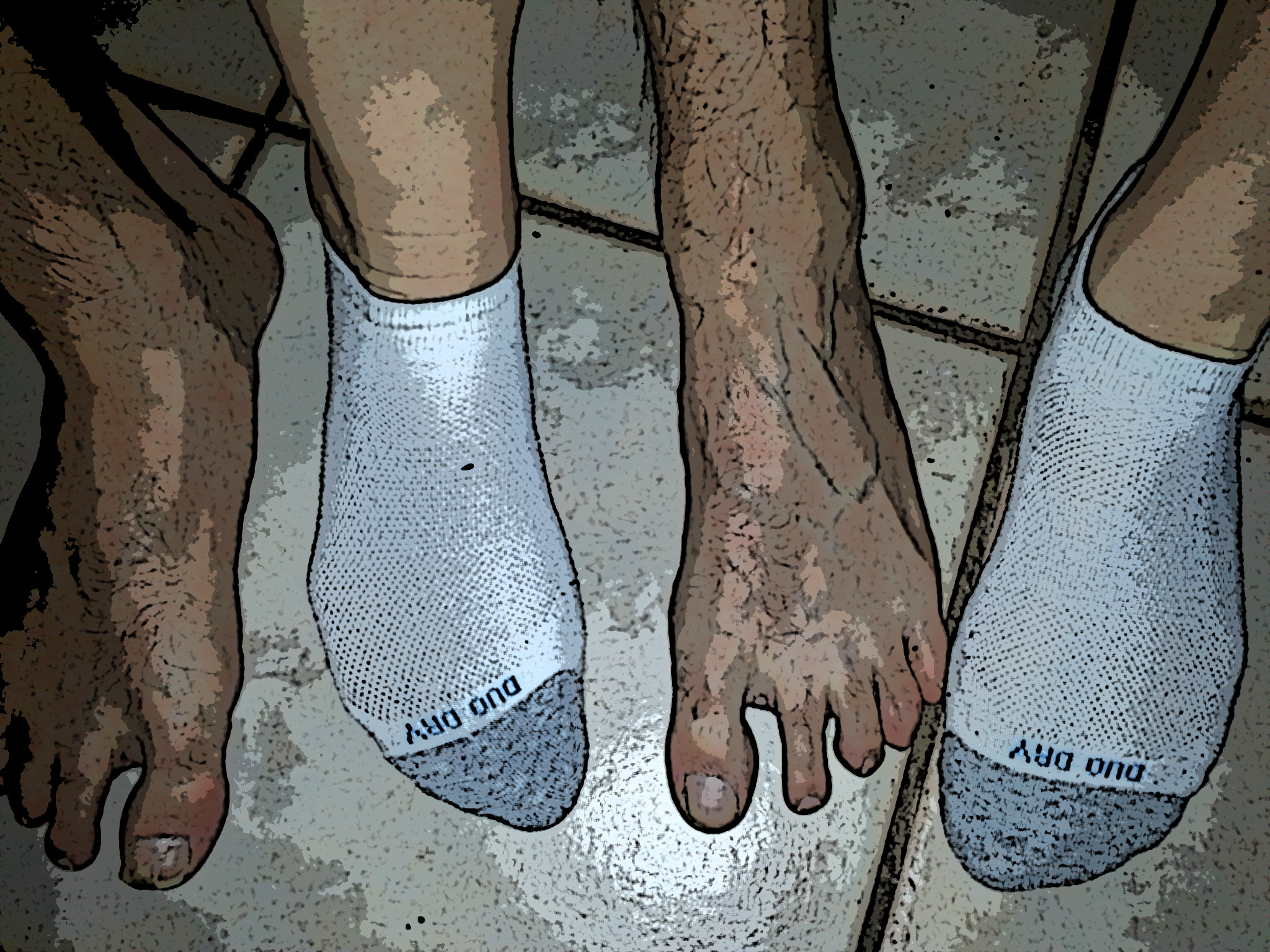 socks and barefeet edited
