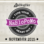 To NaBloPoMo or not to NaBloPoMo, that is the question…