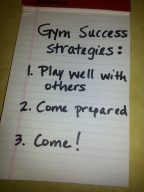 """If you """"resolve"""" to hit the gym…"""