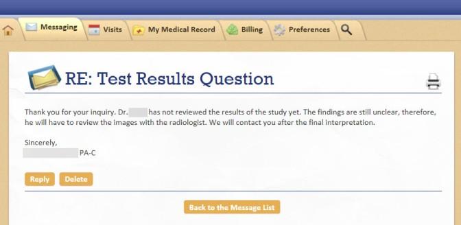 MRE results 2