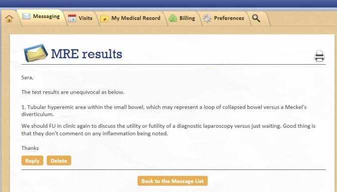 MRE results 4