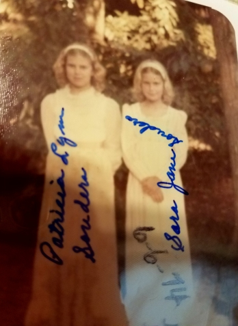My grandmother shot these photos, as I know because of the tell-tale handwriting. She always wrote directly on the front of the photos.